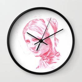 Jane Eyre glowing Wall Clock