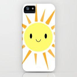 Cutie Pie Sun iPhone Case