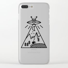 They Made Us Clear iPhone Case
