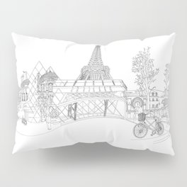 Paris! Version#1 Pillow Sham