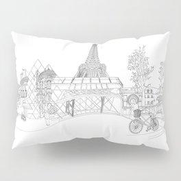 Paris! Version#1 Pillow Sham
