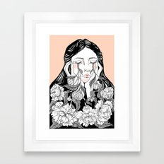 cry me a garden Framed Art Print