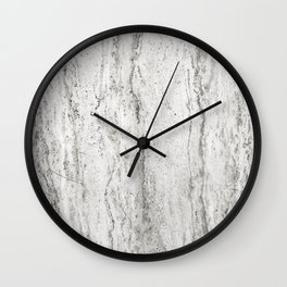 Creamy Waterfall II Wall Clock
