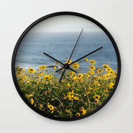 California Summer Wall Clock