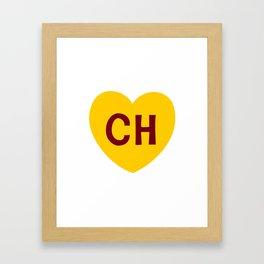 Escudo del Chapulin Framed Art Print
