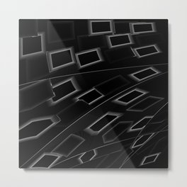Tiles 2 Metal Print