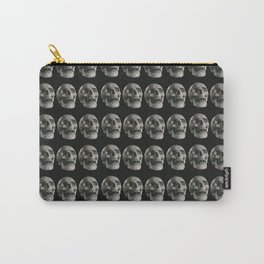Skull pattern, gothic Carry-All Pouch