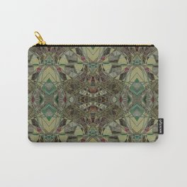 The Balloons- Neutral Filigree  Carry-All Pouch