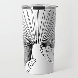 Use of Toy Slinky Travel Mug