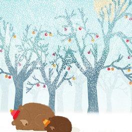 Art Print - Sleeping winter - Kakel