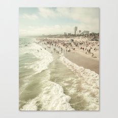 Jump In Canvas Print