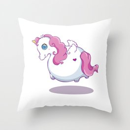 UNICORNS ARE KEWL  Throw Pillow