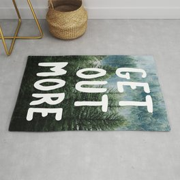 Get out more Rug
