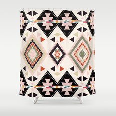 tribal fusion Shower Curtain