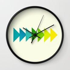 Arrows I Wall Clock