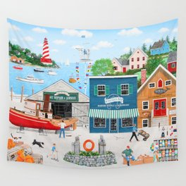Where the Buoys Are Wall Tapestry