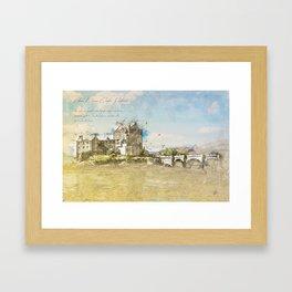 Eilean Donan Castle, Scotland Framed Art Print