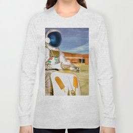 Attention Wal Mart Shoppers Long Sleeve T-shirt