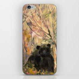 My Curious & Gentle Bear iPhone Skin