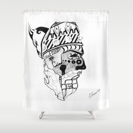 Skenderbeg Shower Curtain