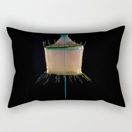 Creamy Collision Rectangular Pillow