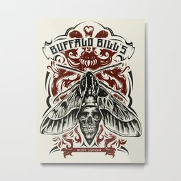 Buffalo Bill Lotion Poster Metal Print