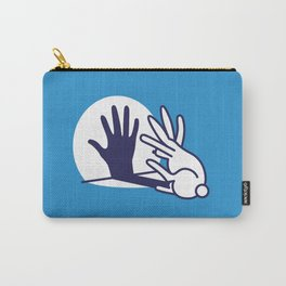 hand shadow rabbit Carry-All Pouch