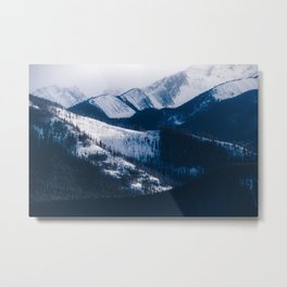 Mountains of Canada Metal Print