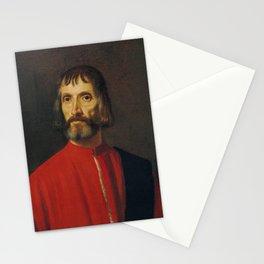 Titian - Ritratto di Andrea de' Franceschi a Mezzo Busto Stationery Cards