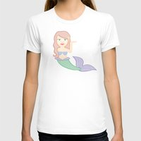 emoji T-shirts featuring mermaid emoji by heykatieking