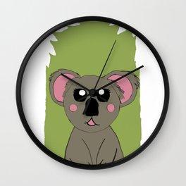 Mrs Koala Wall Clock