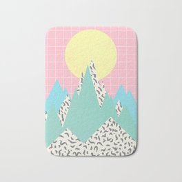 Memphis Mountains Bath Mat