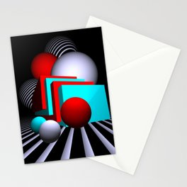 liking geometry -7- Stationery Cards