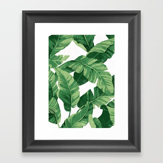 Tropical banana leaves IV by catyarte