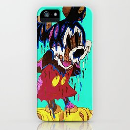 Drippy Mouse iPhone Case