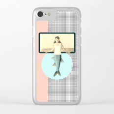 mermaid style Clear iPhone Case