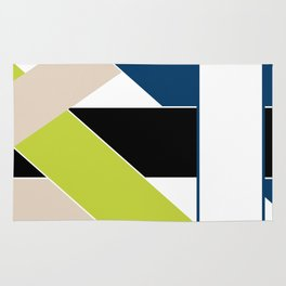 Abstract pattern . Geometric shapes .1 Rug
