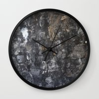 concrete Wall Clocks featuring Concrete by Crimson-daisies