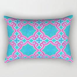 THE MOORS OF PALM SPRINGS, pattern by Frank-Joseph Rectangular Pillow