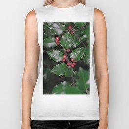 Holly berries Biker Tank