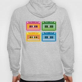 audio cassette Hoody