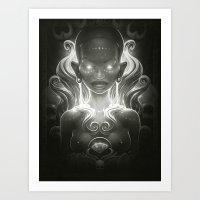 spirit Art Prints featuring Spirit by Dr. Lukas Brezak