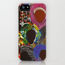 African Muslima Queens by Kelly Izdihar Crosby iPhone Case