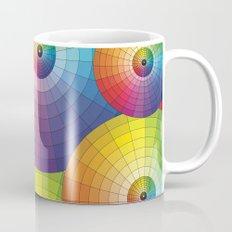 Rainbow Pretty Circles Color Wheel Awesome Thing Mug
