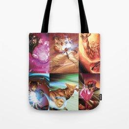 Street Fighter Favorites Tote Bag