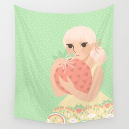 Strawberry! Wall Tapestry