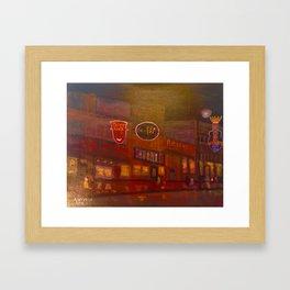 Evening on Beale Street Framed Art Print