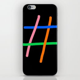 tag iPhone Skin