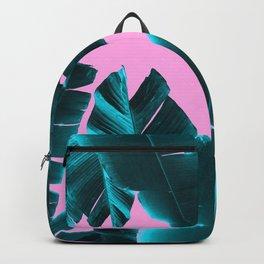 Banana Leaves Tropical Vibes #3 #foliage #decor #art #society6 Backpack