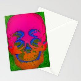the 4i skull stencil art - 3D Stationery Cards